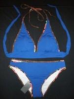 Fashion Womens Beach Bikini Girls 2015 Fashion Swimwear Luxury Cotton Swimsuits Classic Sports Bikinis Free Shipping