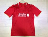 new season  15 16  liverpooles jersey red  home  BALOTELLI STURRIDGE HENDERSON GERRARD COUTINHO 2015 soccer jersey  2015 Shirts