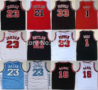 cheap Basketball Jersey 21 Jimmy Butler 23 Michael Jordan Jersey,Chicago 1 Derrick Rose 16 Paul Gasol 33 Scottie Pippen Jersey