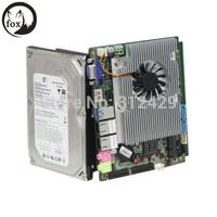 Factory Supplier ! Embedded Industrial Fanless Mini Pc / Mini- hm77-3615 Motherboard