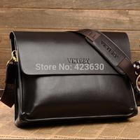 New 2015 Men Shoulder bag Men's Handbag Man Messenger Bags Genuine Leather Briefcases Ipad Bag