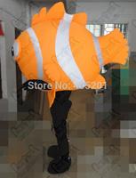 clown fish mascot costumes big fish body costumes character water animal walking disguise