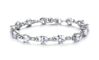 Explosion of activity include post fashion accessories perfect Rome platinum plated bracelet DS930 Ms.