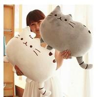 40*30cm Plush Toy Stuffed Animal Doll Talking Animal toy Pusheen Cat For Girl Kid Kawaii Cute Cushion Brinquedos