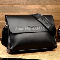 Men Leather Handbag Male Genuine Leather Bag Shoulder Bags 2015 Men's Messenger Bags Briefcases Ipad Bag