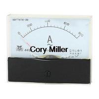 Fine Turning Dial Panel Ammeter Tester AC 0 - 800A Measuring Range 44L1