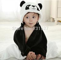 Hooded Animal panda modeling Baby Bathrobe Cartoon Baby Towel Character kids bath infant bath towels