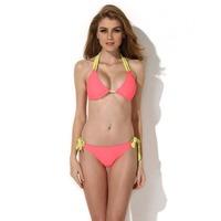 Free Shipping  15031  Women's Triangle Top with Classic Cut Bottom Bikini Swimwear