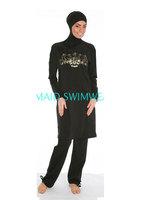 New muslim One Pieces Swimsuit women muslim swimwear Islamic  clothing