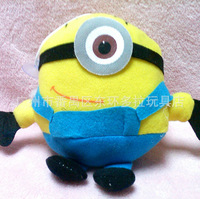 18cm 3d Despicable Me Movie Plush Toy Gifts For Kids Minion Jorge Stewart Dave Movie Minions Animals Dolls Sonic Toy