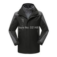men winter outdoor clothing hiking camping skiing Coats mountain climbingJacket men waterproof reathable jackets & Coats