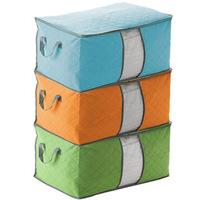 fashion new storage bag cheap quilt storage case environmental charcoal