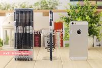 Wholesale 144pcs/lot Brand New Gel Pens SCM V595 Crown Pattern 0.35mm Core Cute Gel Pen For Office/School -Free Shipping