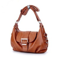 Free shipping 2015 European and American fashion new leather Leather shoulder inclined across packages