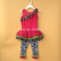 clothing free girls set children's girl clothes sets girls clothing suits  flower sleeveless suit kids set girls wear