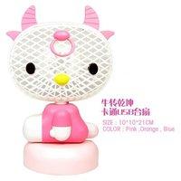 Portable USB mini fan/ handy swinging fan-ABS plastic material 20pcs free shipping
