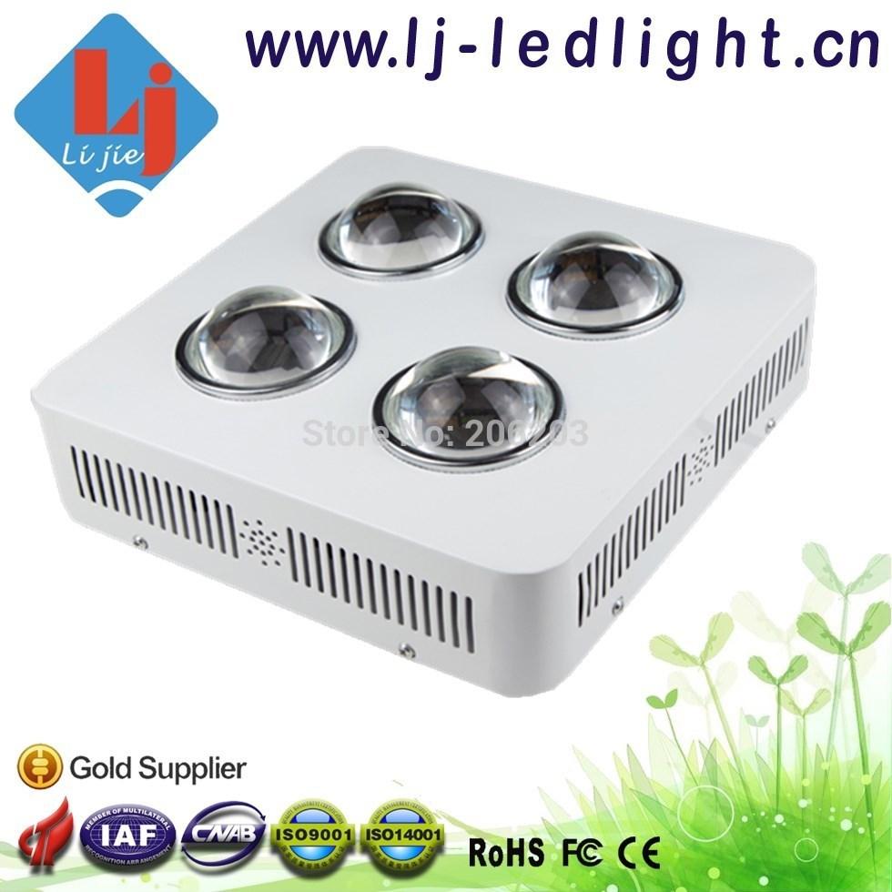 Cob LED crescer Ligh 200 W / 4 * 50 W para efeito estufa sistema hidropônico jardim interior 630nm vermelho 460nm azul(China (Mainland))