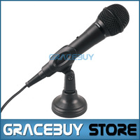 Condenser Microphone/ Microphon Microfone Handheld Reverb Chip With Microfono Stand/Holder Vocals USB Mic For pc/Laptop
