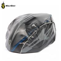 WOLFBIKE 3 Colors New Arrival Windproof Dust-proof Rain Cover MTB Road Bike Cycling Helmet Cover