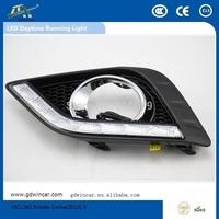 Factory COB Super power 12V  led light Top quality led car drl for Nissan Livina Led Daytime Running Light
