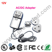 Ac dc 12v 3a power adapter free shipping by DHL 10pcs/lot 36W switching power supply charger portable 100-240V transformer