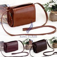 2015 New Arrivals Women's Retro Messenger Shoulder Bag Camera Holder Mini Bag Free Shipping