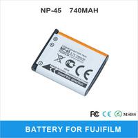 Rechargeable NP-45 For FUJIFILM XP10 XP11 J38 Z70 Z35 Digital Camera Battery 740mAh