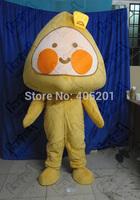 Triangle head mascot costumes steamed stuffed bun costumes Dumpling