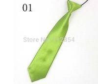 Free Shipping+Wholesale Fashion Child Kids School Boy Wedding Elastic Neck Tie,200pcs/lot