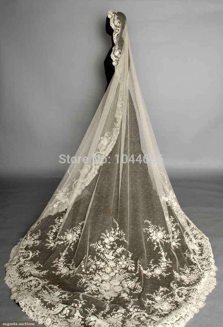 champagne wedding veils long one layer wedding veil chapel wedding