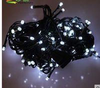 10 m100 ledled Christmas lights, waterproof outdoor normally on white LED lights all over the sky star light string