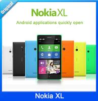 Original Nokia XL 4GB ROM Mobile Phone 5.0 inch Screen Dual SIM Dual-core 1.0GHz 3G WCDMA support WiFi GPS Free Shipping Gifts