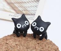New Fashion Cute Cat Earrings Black Cat Earrings Animal Earrings For Women