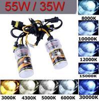 2pcs  Xenon HID Replacement car headlights Bulbs Lamp 55W 12V H1 5000K New