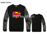 sudaderas hombre hip hop print cotton casual pullover leather sleeve sweatshirt men supreme sweatshirts tracksuits bape
