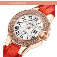 Fashion luxury women analog watch lady genuine leather wristwatch female business style quartz watches girls best gift for love