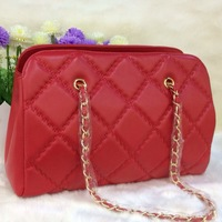 sheepskin leather handbags new bag design handbag lattice embroider bags famous brands woman handbag Genuine leather casual bag