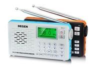 Degen DE29 LED FM stereo MW/SW radio digital tuning full band card receiver campus radio broadcasting Recorder mini speaker