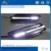 Factory OEM Super power 12V  led light Top quality led car drl for Nissan Teana Duke Led Daytime Running Light