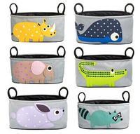 1Pcs Lovely Baby Diaper Bags Animal Stroller Accessories Storage Bottle Diapers Organizer Bag Handbag Travel Bag
