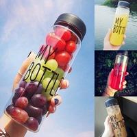 500Ml Plastic Fational Sport My Fruit Bottle Lemon Juice Readily Cup Drinking Water