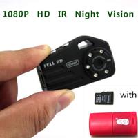 FULL HD 1080P Mini Camera DVR Camcorder Night Vision Portable Video Recorder DV T9000 with 4GB TF card