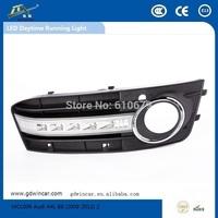 Factory Super bightness led light Top quality led car drl for Audi A4L B8 Led Daytime Running Light