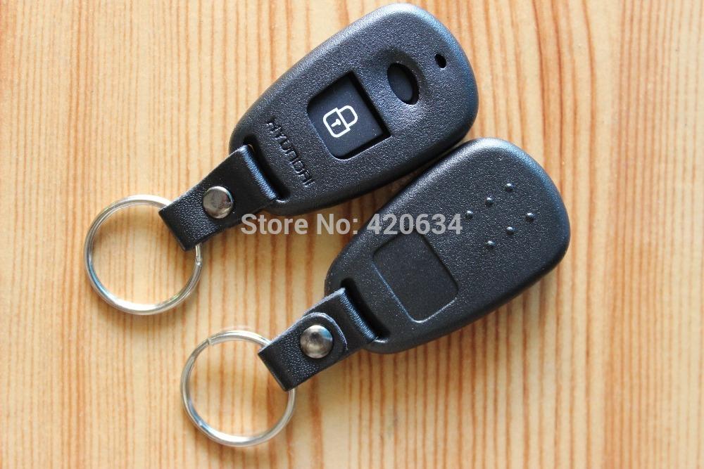 2pcs/lot Car Key Blank Hyundai Elantra Remote Key Shell Case (With battery Location) + Free Shipping(China (Mainland))