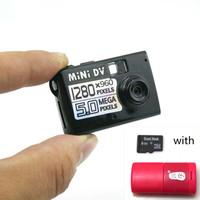 5MP HD Smallest Mini DV Digital Camera Video Recorder Camcorder Webcam DVR SC501 with 8GB TF card