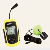 Lucky FF1108-1 Portable Boat Fish Finder Waterproof Fishfinder For Fly Fishing