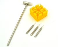 2015 Hot Sale Ferramentas Tools Kits free Ship 3pc Adjust Watches Case Spring Bar Remover Opener Repair Tool Kit Set Fix Watch