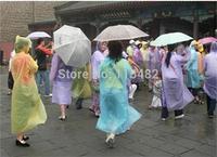 Disposable Raincoat Adult Emergency Waterproof Hood Poncho Travel Camping Must Rain Coat Unisex