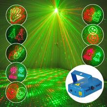 20 в 1 » рождество логотип » проектор R и G диско DJ свет этапа лазера освещение фестиваль [ XPT-XL22 ]