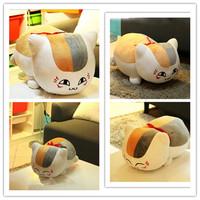 "13"" Natsume Yuujinchou Nyanko Sensei Cat Plush Doll Toy For Children Free Shipping"